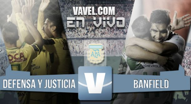 Resultado Defensa y Justicia - Banfield (1-0)
