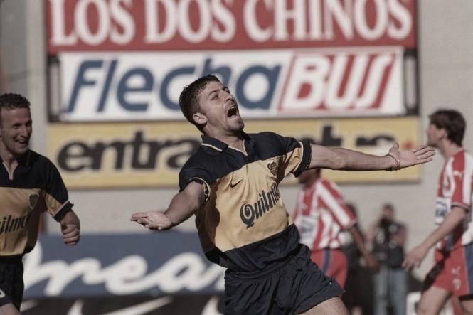 A 20 años del último partido de Samuel en Boca