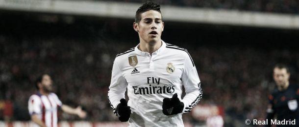 El Real Madrid de James Rodríguez va por la remontada