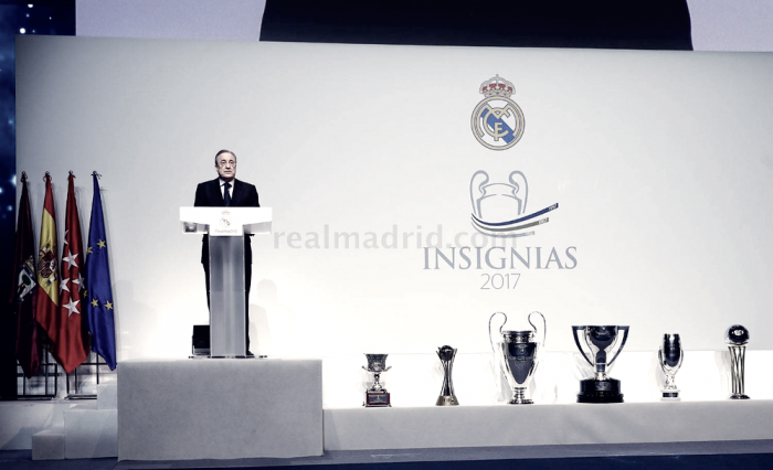 """Florentino Pérez: """"El Real Madrid es el club más prestigioso y admirado del mundo"""""""