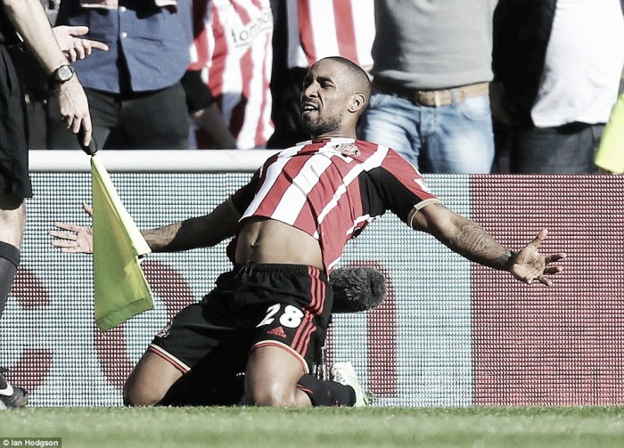 Defoe praises the support of the Sunderland fans
