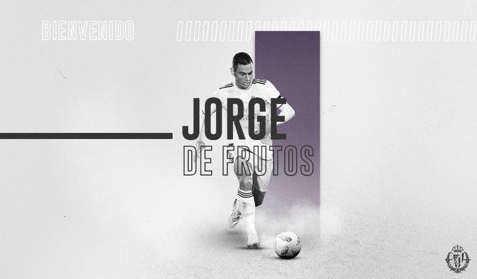 Jorge De Frutos, primer fichaje del Real Valladolid 19/20