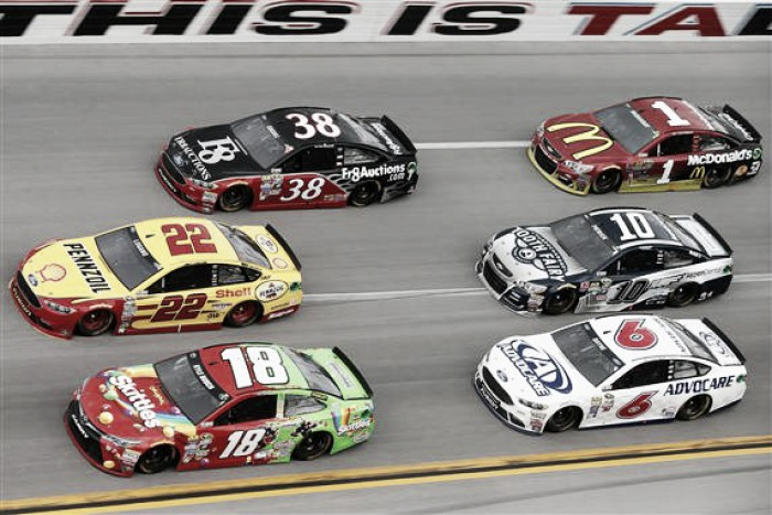 NASCAR drivers dismayed, dumbfounded by Talladega crashfest