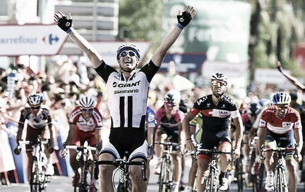 Vuelta 2014 - Au sprint, John Degenkolb remporte la 4ème étape