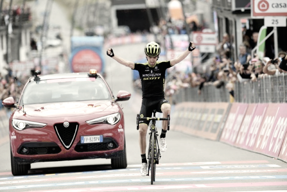 Mikel Nieve se exhibe y Froome sentencia el Giro de Italia