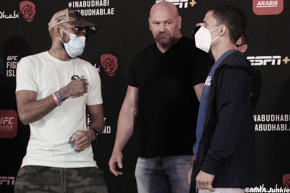Figueiredo y Benavídez, listos para pelear por el cinturón de los moscas (Foto: MMA Junkie - John Morgan)