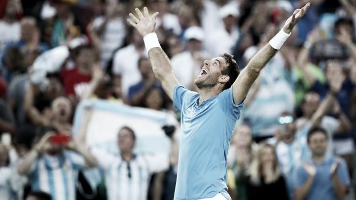 Del Potro le dio el punto a la Argentina