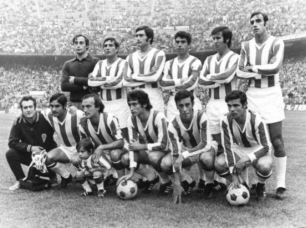 Cuando Vicente del Bosque jugó en el Córdoba CF