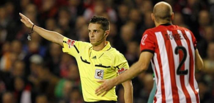 Carlos Del Cerro Grande: el árbitro ante la Real Sociedad