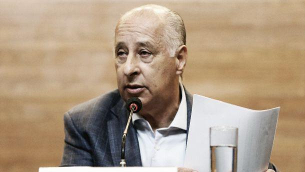 Presidente da CBF critica manifestação de árbitros em partidas do Brasileirão