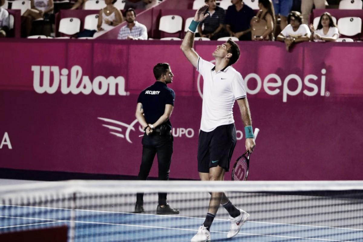 Del Potro bate Dzumhur e avança à final do ATP 250 de Los Cabos