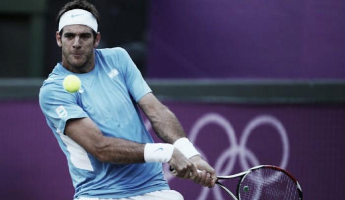 Del Potro elimina a Djokovic y avanza en Río