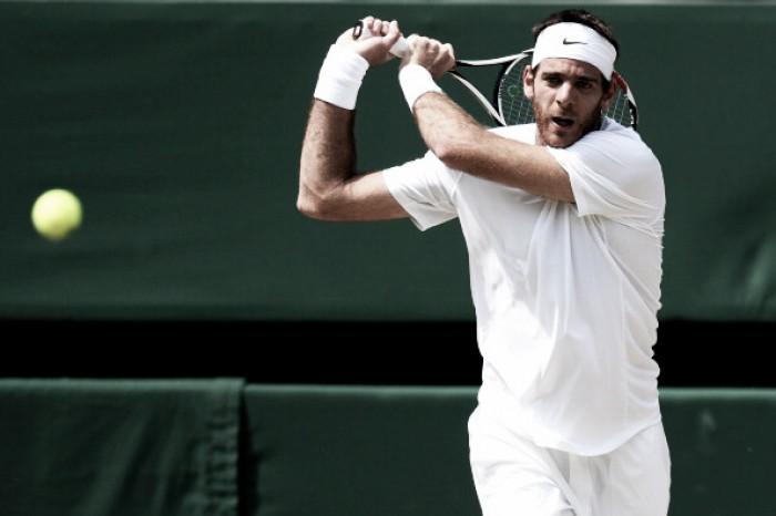 Del Potro retorna a Wimbledon com vitória em cima de veterano francês