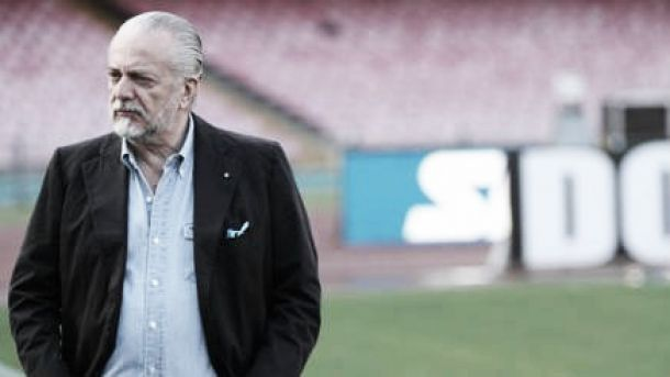 """De Laurentiis protegge Sarri: """"Criticate me, non lui"""""""
