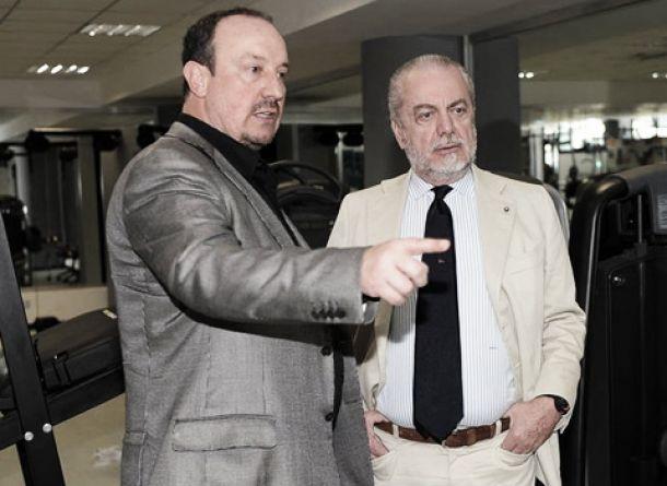 Napoli, De Laurentiis vuole soltanto Benitez