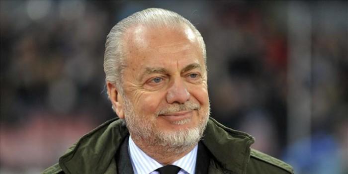 """Napoli, De Laurentiis: """"Il primato non mi sorprende. Sarri può restare dieci anni, ma dipende da lui"""""""