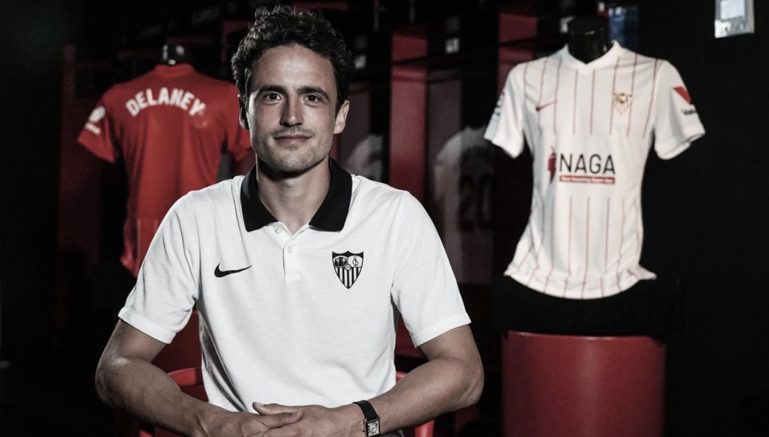 """Thomas Delaney: """"El Sevilla juega con muchísima intensidad y eso me gusta"""""""