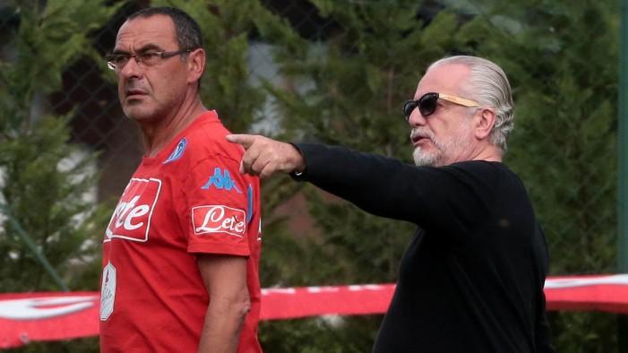 Napoli, De Laurentiis vuota il sacco: Mertens rinnova, Sarri come Ferguson