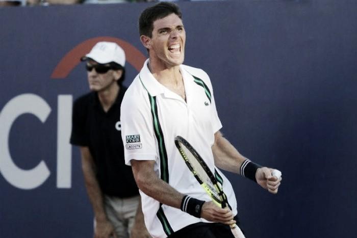 Sorpresa en el Argentina Open: Delbonis eliminó a Fognini y se metió en los octavos de final