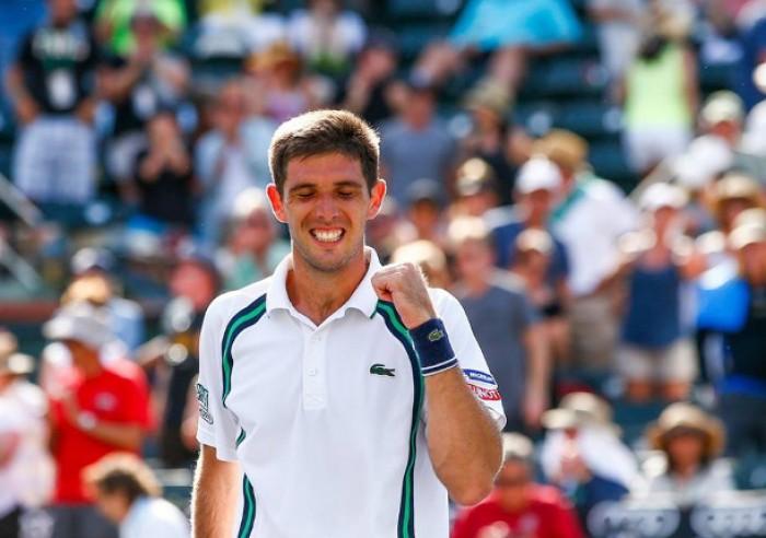 ATP Marrakech, titolo a Delbonis