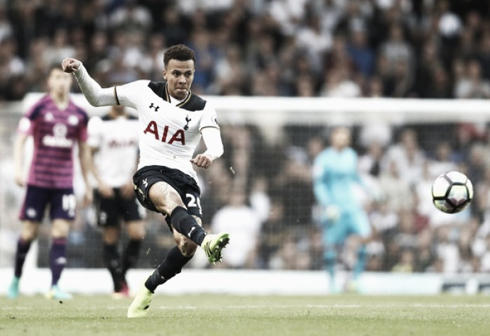 Dele Alli frusta gigantes europeus e renova contrato com Tottenham