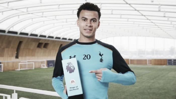 Com cinco gols no mês, Dele Alli recebe prêmio de melhor jogador de janeiro da Premier League