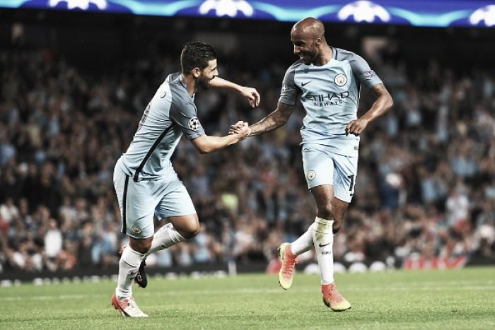 Manchester City controla, vence Steaua Bucareste de novo e se classifica à fase de grupos da UCL
