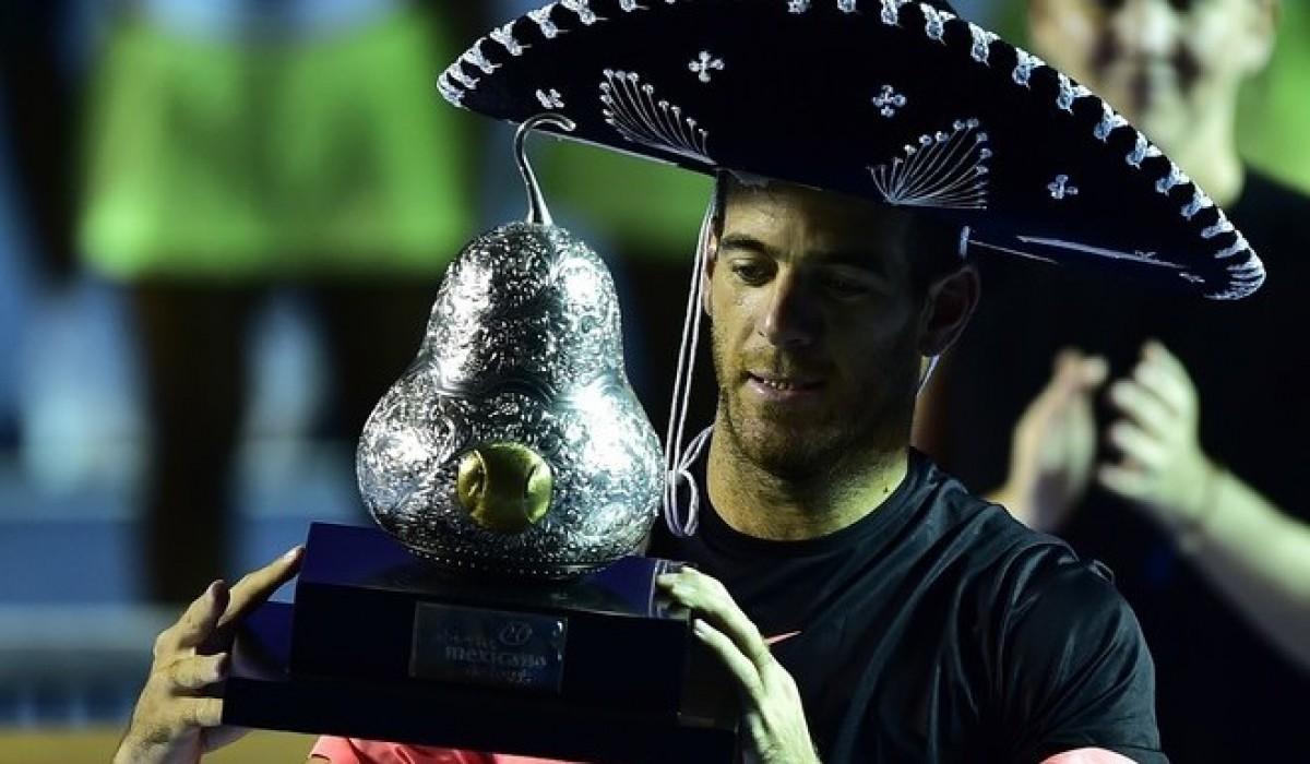 Del Potro, campeón en México