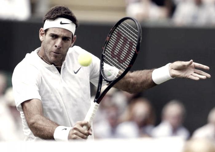 Wimbledon 2017 - Kokkinakis va e viene, Del Potro passa in quattro set
