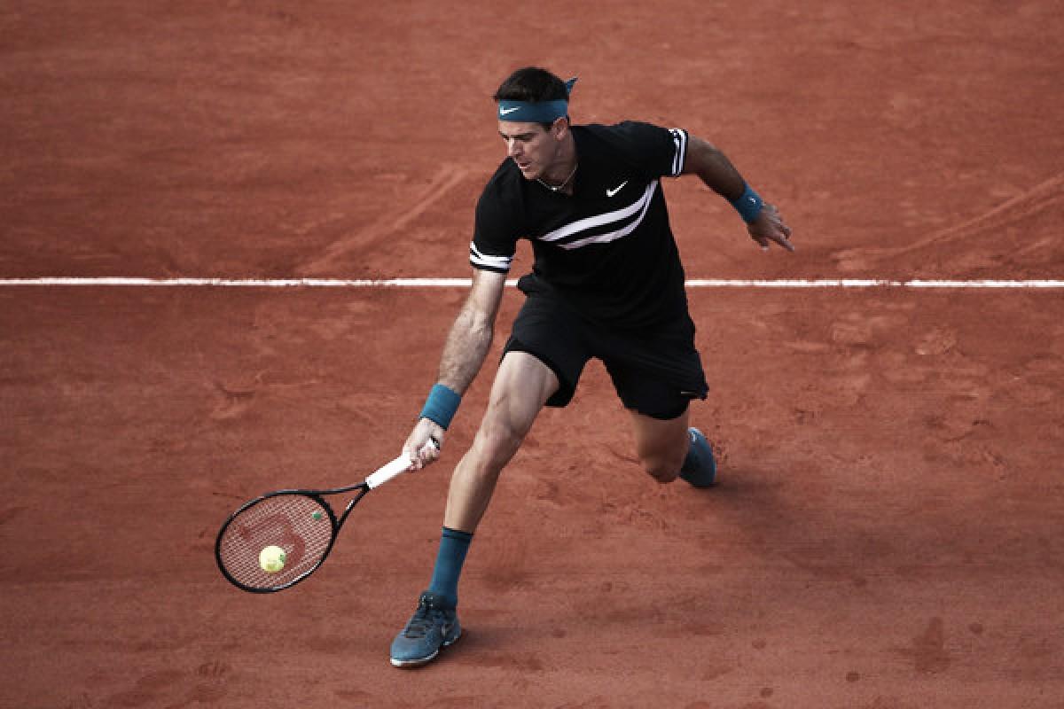 Tras seis años, Del Potro disputará la segunda semana de Roland Garros