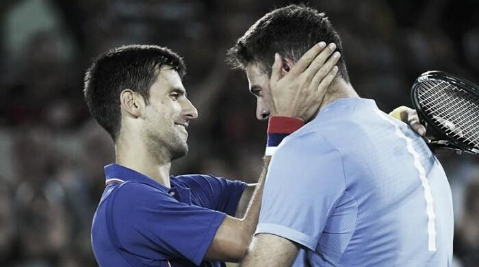 Del Potro frente a Djokovic, otra vez