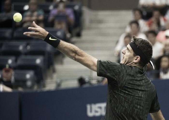 Juan Martín del Potro logró su segunda victoria en US Open