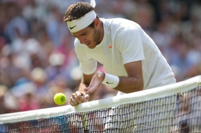 Wimbledon 2016 - Ottimo esordio per Del Potro: 3-0 a Robert