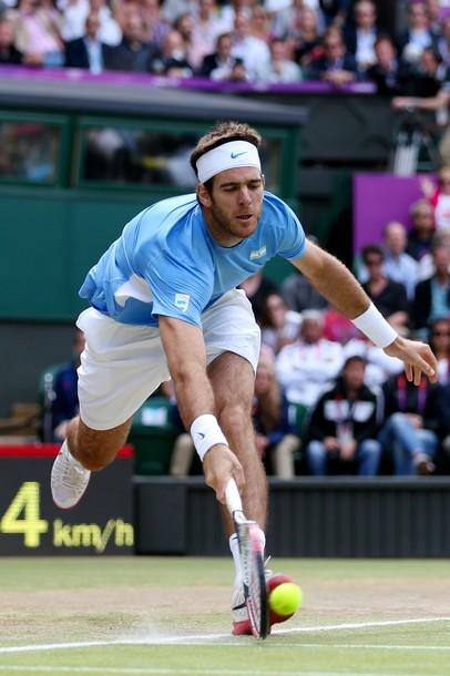 Tenis - Argentina: Del Potro no pudo con Federer en un partido de infarto