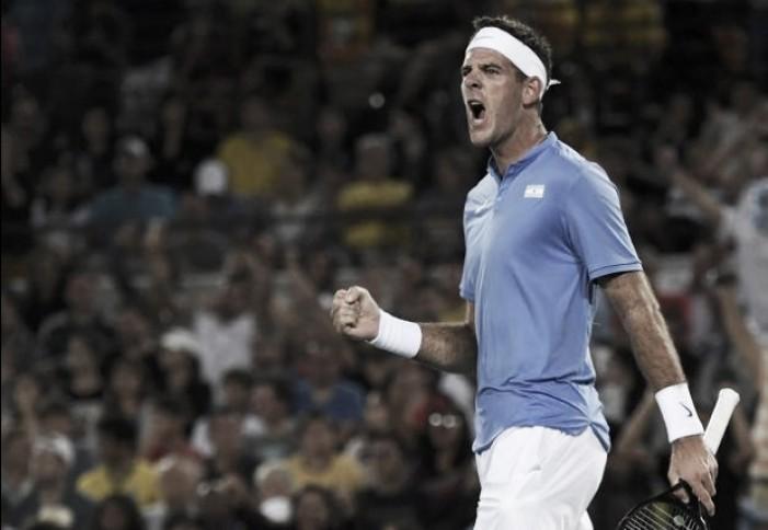 Ele voltou: Del Potro frustra planos de Djokovic e derrota o sérvio na primeira rodada da Olimpíada
