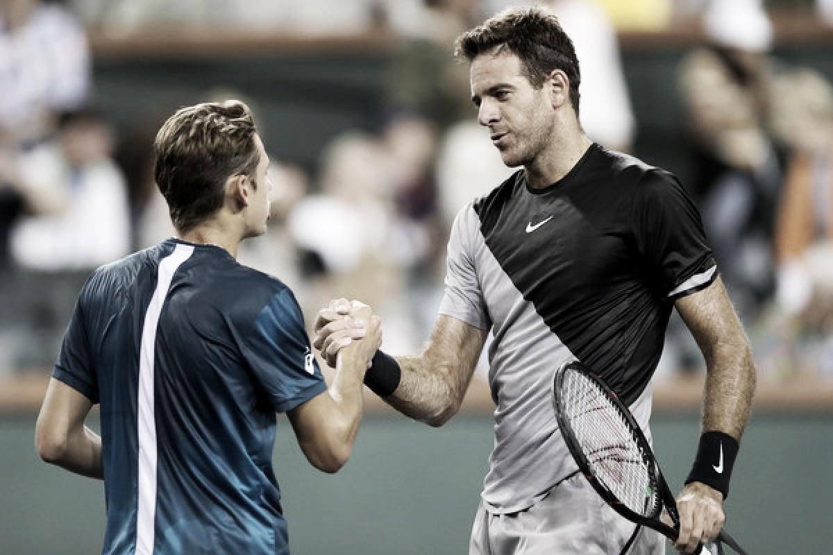 ATP Indian Wells: Juan Martin del Potro continues impressive run, serves his way over wildcard Alex de Minaur