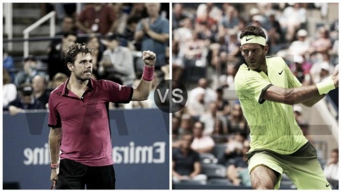 US Open: Del Potro vs Wawrinka, por un lugar en la semi
