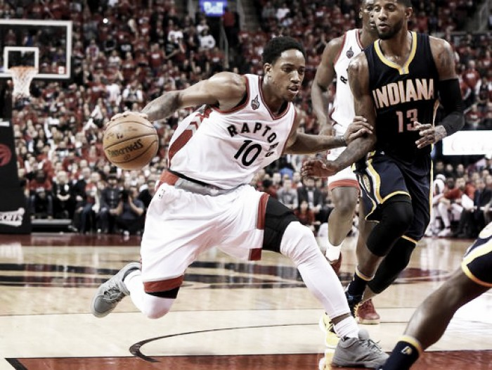 Toronto Raptors advance to second round with victory over Indiana Pacers