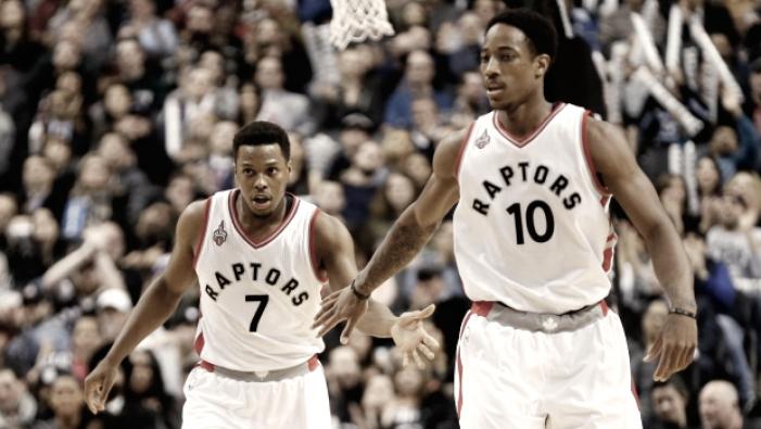 NBA - Toronto batte Phila grazie ai suoi big3. Gli Hornets del Beli perdono contro i Wizards