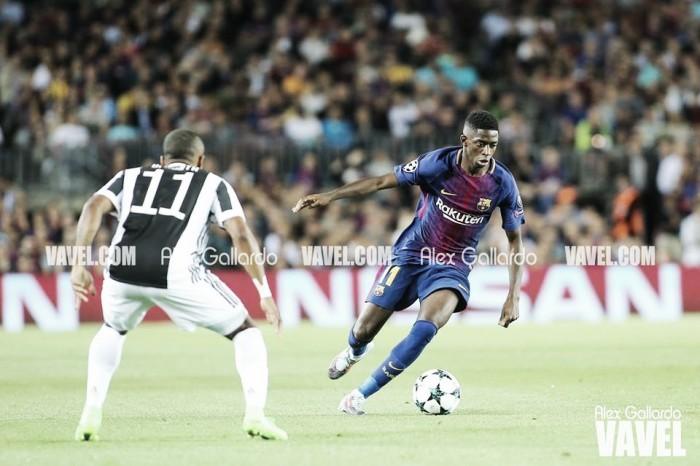 Dembélé regresa cuatro meses después