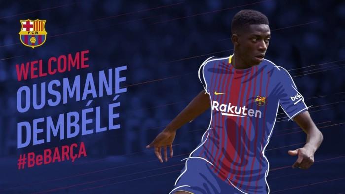 Barcellona, adesso è ufficiale: arriva Dembélé