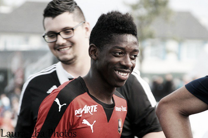 Ousmane Dembele linked with United after scouts watch him for Rennes