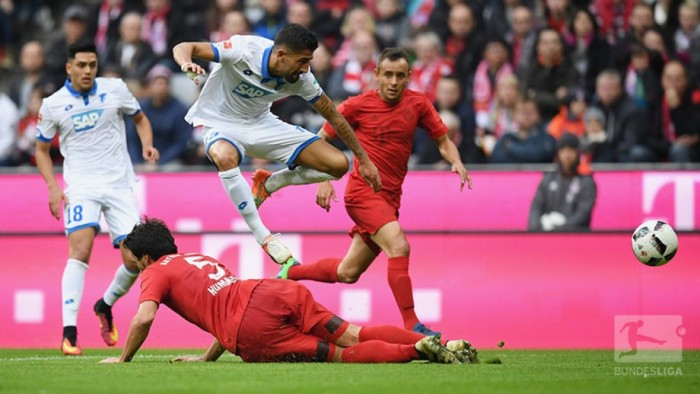 Bayern Munich 1-1 TSG 1899 Hoffenheim: Sinsheim side hold Bayern as both maintain unbeaten starts