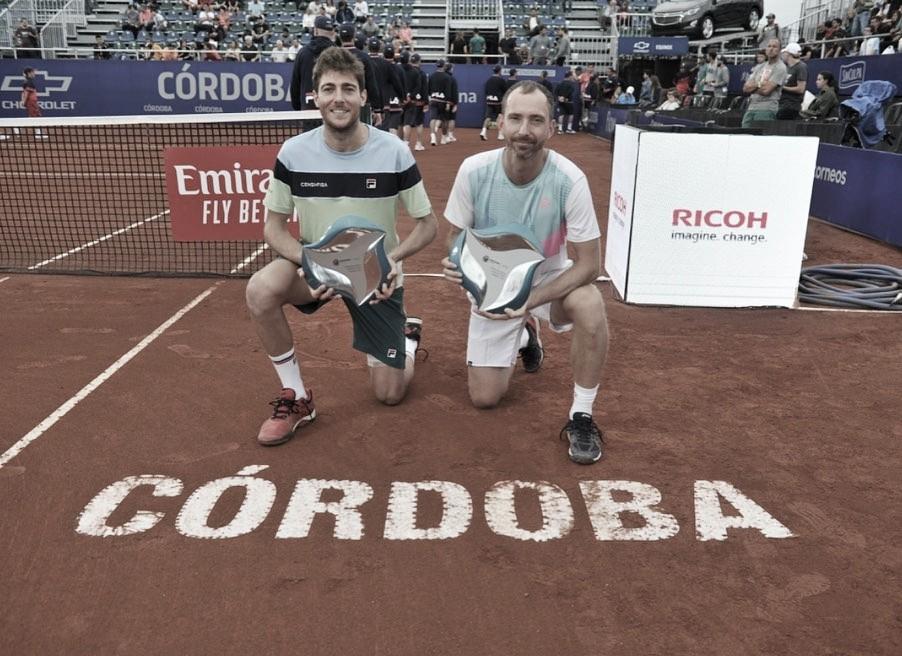 Demoliner vence ATP 250 de Córdoba ao lado de Middelkoop e entra novamente no top 50