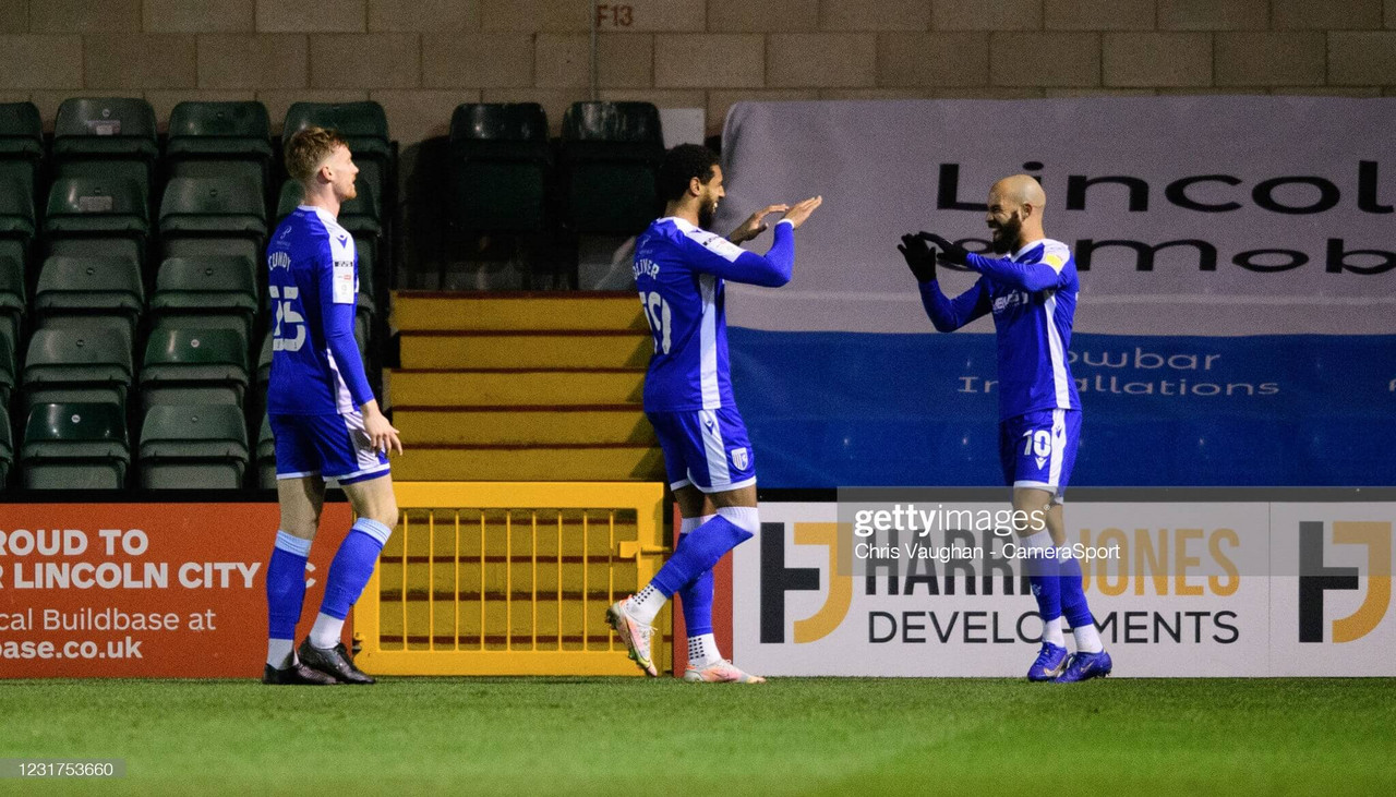 Lincoln City 0-3 Gillingham: Impressive Gills thrash third placed Imps