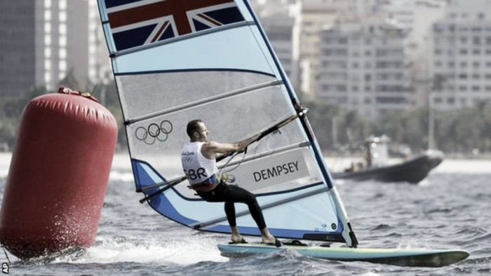 Rio 2016: Sailing Day One: Dempsey leads the way on the first day of Sailing