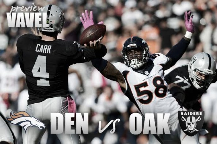 Denver Broncos vs Oakland Raiders preview: AFC West rivilary reignited in 2016