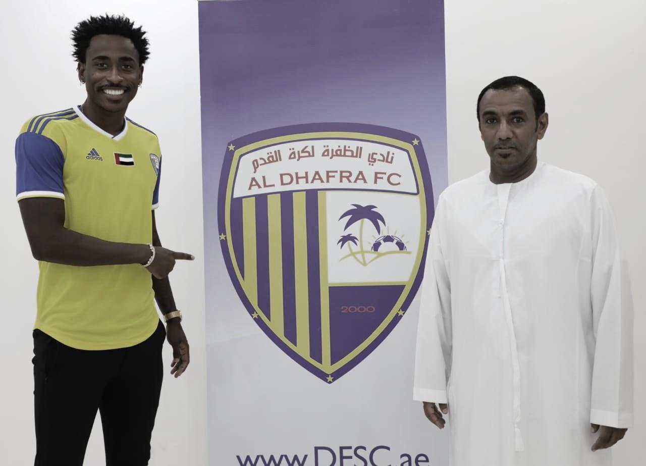 Denílson mira conquistas no futebol árabe pelo Al Dhafra/EAU