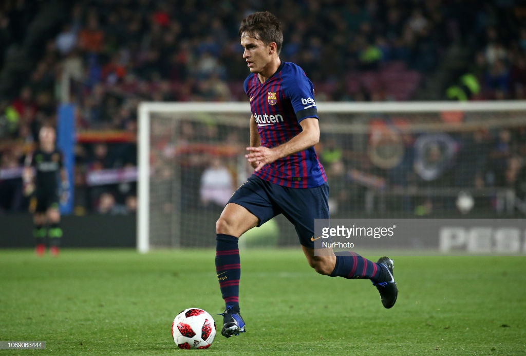 Denis Suarez joins Arsenal on loan from Barcelona