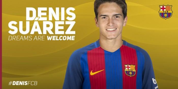 Barcelona oficializa retorno do meia Denis Suárez